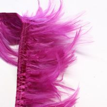 Magenta Full Hackle Feathers